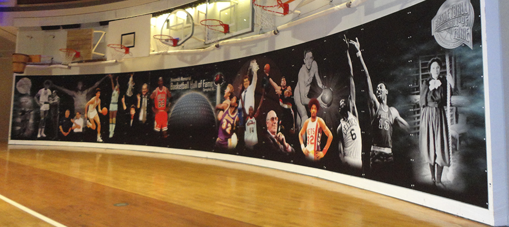 Shooting for Perfection – Basketball Hall of Fame