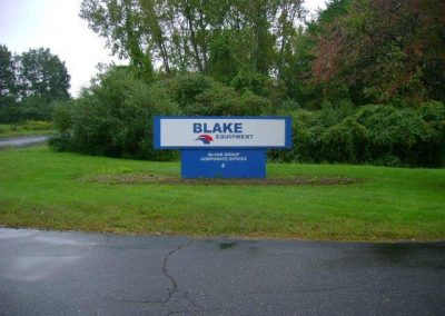 Blake Equipment Sign 10.17.11
