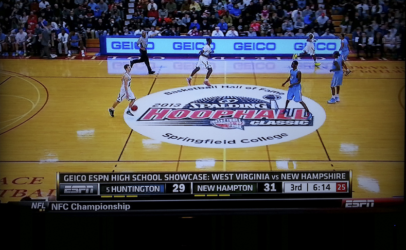 2013 Hoophall Classic Floor Graphics