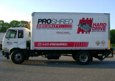 Pro Shred Flat front box truck 2012 (7)